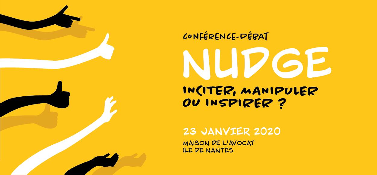 Retour sur la conférence : NUDGE, inciter, manipuler ou inspirer ?